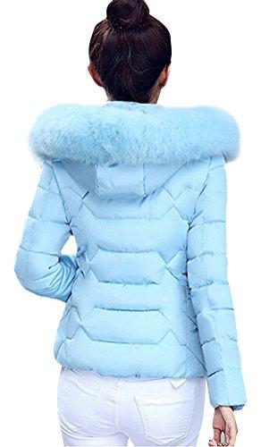 ... Brinny Damen Mantel Lange Winterjacke Steppjacke Kunstpelz Kapuzen  Parka Lang Wintermantel Übergansjacke Mantel Jacke Fellkapuze Warmen