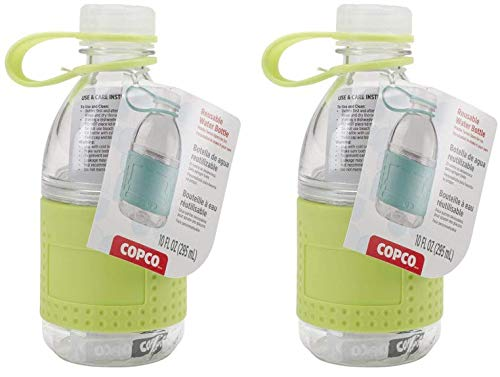 Lime Copco Hydra Mini Reusable Water Bottle 2 Pack 10-Ounce