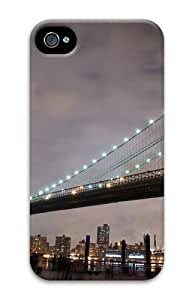 Brooklyn Bridge Lights PC Case for iphone 4S/4