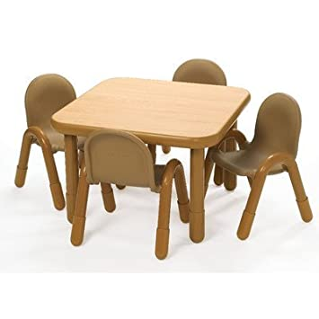 preschool table and chair set. Interesting Chair Angeles Preschool Table U0026 Chair Set NATURAL With And E