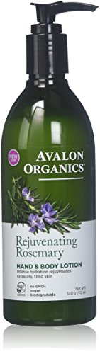 Avalon Organics Anics Lotion H&B Rosemary, 12 oz