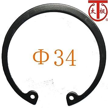 65Mn RTW 34 100 Pieces//lot - DIN472 Internal Retaining Ring Internal circlips RTW Inner Diameter: B Type -1566 Ochoos
