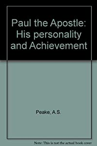 Paperback Paul the Apostle : His Personality and Achievement Book