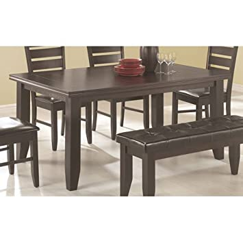 Coaster Newport Dining Table, Cappuccino