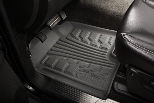 Set of 2 Lund 283067-G Catch-It Vinyl Grey Front Seat Floor Mat