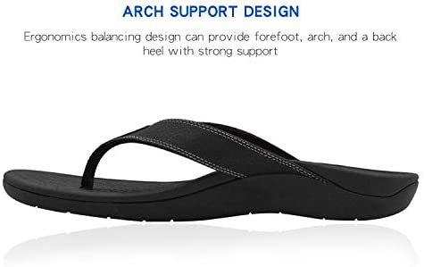 Upgraded Orthotic Flip Flops with High