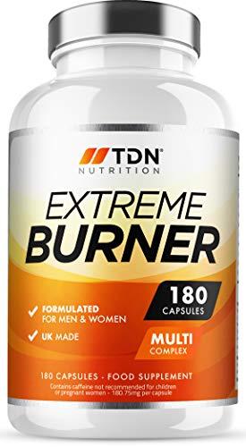 Extreme Burners – Weight Management for Men & Women – Massive 6 Months Supply – Premium Grade UK Made Diet Pills – Multi…