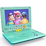 "Best Portable DVD Players - COOAU 12"" Kids Portable DVD Player 9"" HD Review"