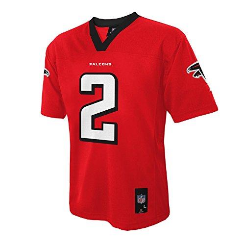 Nfl Atlanta Falcons Matt Ryan Youth Boys 8 20 Mid Tier Jersey  Crimson  X Large  18 20