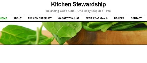 kitchen stewardship - Kitchen Stewardship