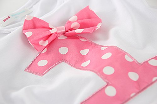 Mud Kingdom Little Girls Birthday Outfits I Am 3 Year Pink Unicorn 4T by Mud Kingdom (Image #4)