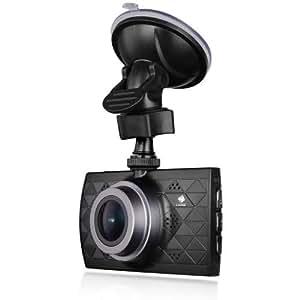 Z-EDGE Z3 Plus Dash Cam Super HD 2.7K Car Dashboard Camera 1440P Car Camera with Ambarella A12 Chipset 3-Inch Screen Super HDR Night Vision 155-Degree Wide Angle and 32GB Memory Card Included