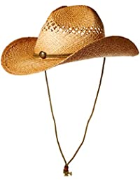 Henschel Men's Hiker Vented Straw Cowboy Hat (Raffia)