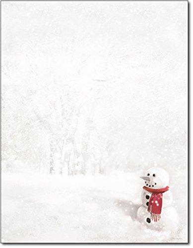 Hortense B. Hewitt 80-Pack Snowman in Red Scarf Decorative ()
