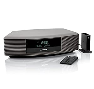 bose wave radio iii bluetooth bundle titanium. Black Bedroom Furniture Sets. Home Design Ideas