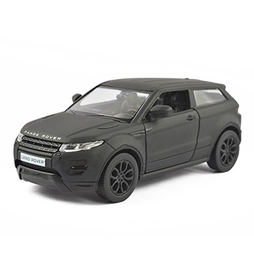 Uni-fortune 5inch Range Rover Land Rover Evoque Diecast Model Car 1/36 Pull Back Toy for Kids Gift Full Back (Range Rover Evoque Toy)