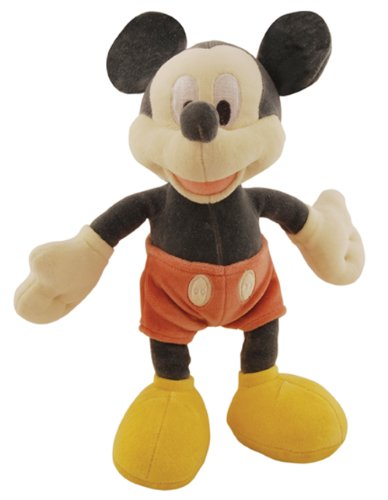 miYim Mickey Mouse Plush, Grey