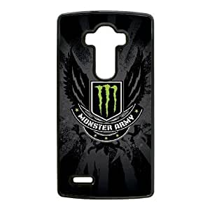 Special Design Cases LG G4 Cell Phone Case Black Monster Energy Okmpy Durable Rubber Cover