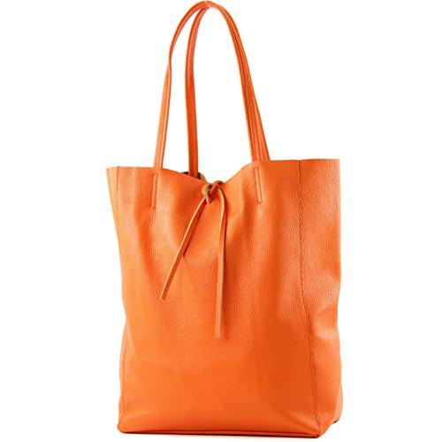 Orange A T163 Shopper Tracolla Donna Colore Pelle Grande anthrazitgrau In Borsa wqFIvv