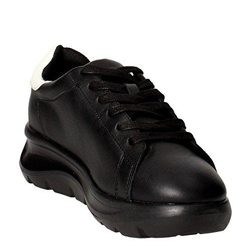 zeppa VENERE con color black Fornarina sneaker Nero BLACK PIFVH9545WVA0001 articolo RwE6qcpcx0