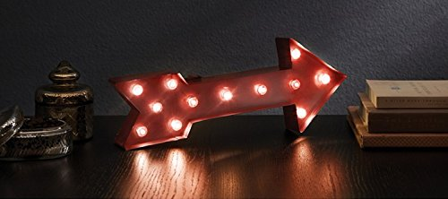ARROW-Illuminated-Marquee-Word-Sign-Red-Metal-16-in-x-9-in