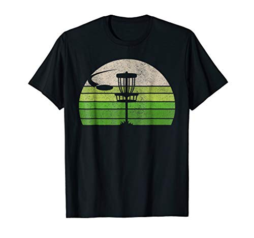 (Vintage Ultimate Frisbee T Shirt, Disc Golf Tee Shirts Men.)