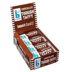Bonomo Turkish Taffy Chocolate (Pack of 24) Bonomo Turkish Taffy Chocolate