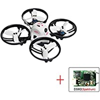 KING KON ET115 PNP Brushless FPV RC Racing Drone Mini Quadcopter (DSM/2 receiver Compatible with Spektrum)