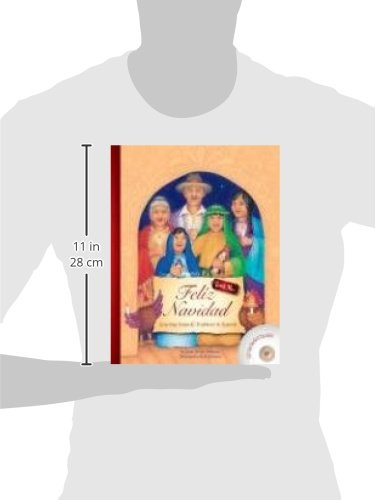 Feliz Navidad: Learning Songs and Traditions in Spanish (Teach Me) (Book & Audio CD) (Teach Me) (Spanish Edition) (Spanish and English Edition) by Teach Me Tapes