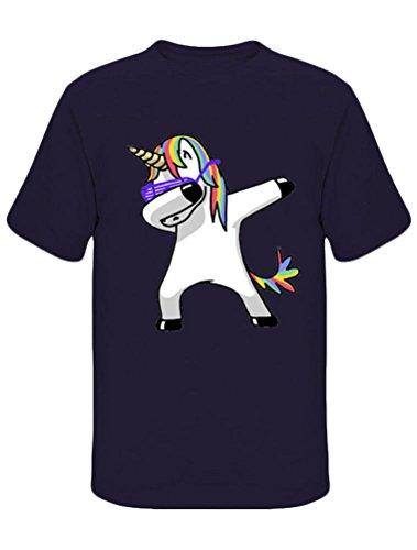 12 Con Stampata Da Uomo Colori Robo Maglietta shirt Manica Corta Unicorno T K Casuale 6PqRSwxZf