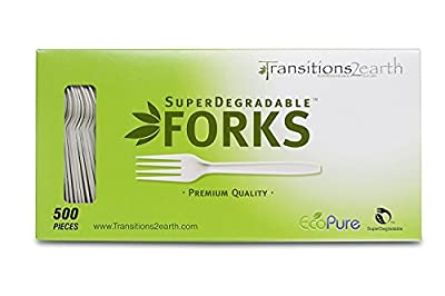 Transitions2earth Biodegradable EcoPure Cutlery