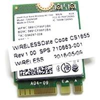 New Genuine HP EliteBook Folio 9470m Intel Dual Band Wireless AC 7260 802.11 ac (2x2) combination WiFi and BlueTooth 4.0 710663-001
