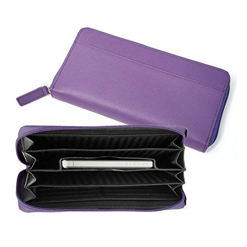 Royce Leather iPhone Ladies Fan Wallet