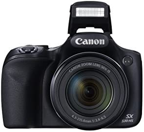 Canon PowerShot SX530 Digital Camera w/ 50X Optical Zoom – Wi-Fi & NFC Enabled (Black) 41PhiZvzZoL