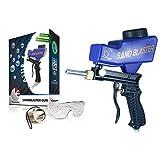 Sandblaster Sand Blaster Sanblaster Gun Kit, Soda Blaster, Professional Sand Blasters, Media Sandblaster Gun, Spot Blaster, Media Blaster Sandblast Gun, Walnut, Bead, & Sand Blast Blasting Equipment.