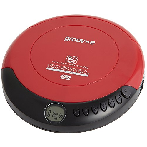 Groove Personal CD Player - Red by Groove