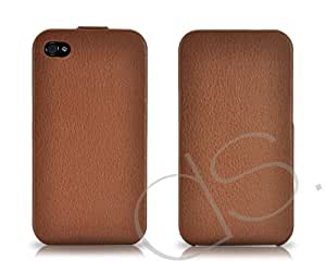 Simplism Series iPhone 4 and 4S Flip Case - Brown