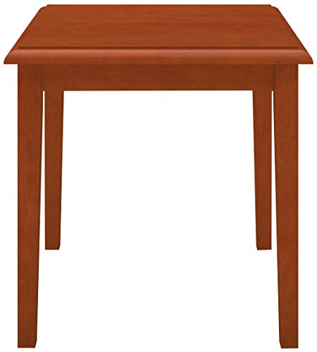 Table End Lesro Wood (Lesro Amherst Wood End Table in Cherry Finish)
