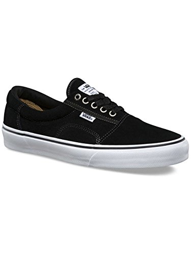 Vans Men's Rowley Solos Black/White/Pewter Skate Shoe 7.5 Men US -
