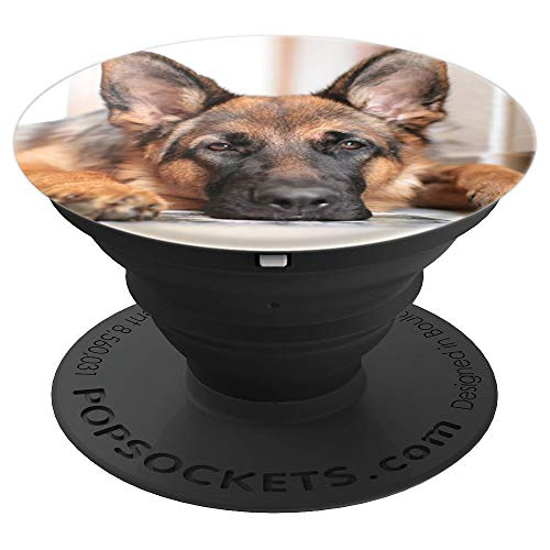 GERMAN SHEPHERD DOG PET ANIMAL - PopSockets Grip and Stand for Phones and Tablets
