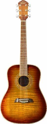 Oscar Schmidt OG1FYS 3/4 Size Dreadnought Acoustic Guitar...