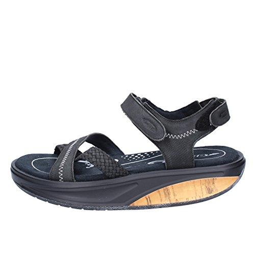 MBT ,  Damen Schuhe mit Riemchen Schwarz