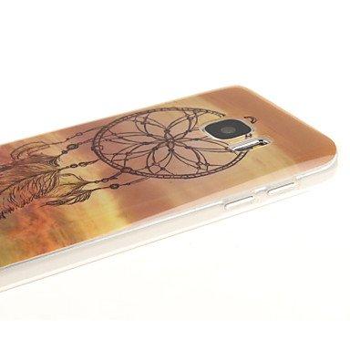 Casos hermosos, cubiertas, Campanilla patrón TPU + caja del teléfono IMD para la galaxia s7edge / S7 / s6edge más / borde S6 / S6 ( Modelos Compatibles : Galaxy S7 Edge ) Galaxy S6 Edge