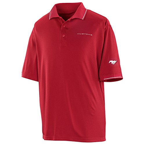 767389ab867 The Ford Merchandise Store Red White Medium Ford Mustang Polo - Buy Online  in UAE.