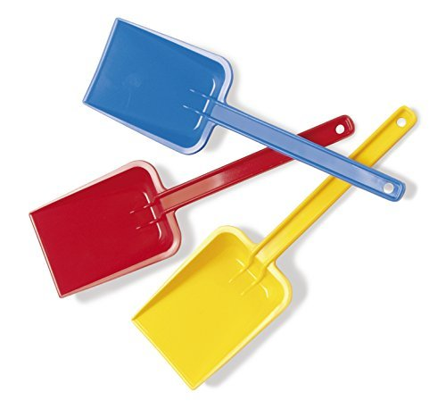 SAND & WATER DURABLE SAND SHOVEL 25cm by DANTOY red blue yellow by Dantoy