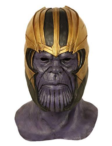 Super Villain Mask Halloween Party Cosplay Latex Helmet
