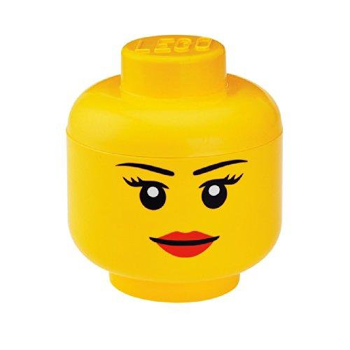 LEGO Storage Head Small Yellow