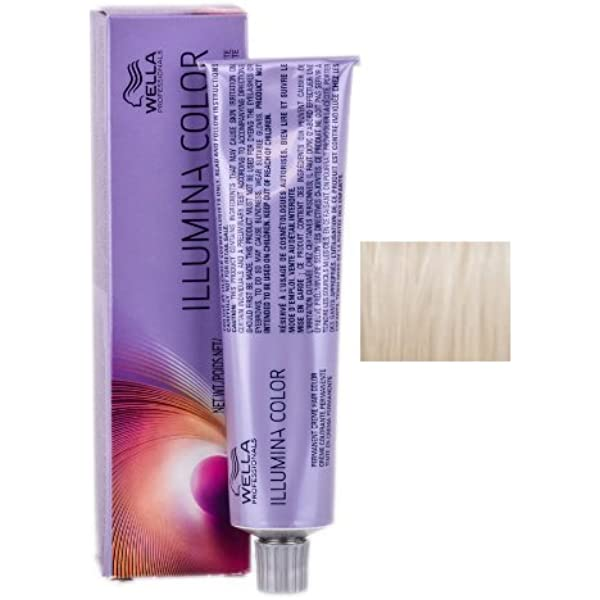 Wella Illumina Permanent Creme Hair Color 10 69 Lighter Blonde Violet Cendre 2 Ounce By Wella Beauty