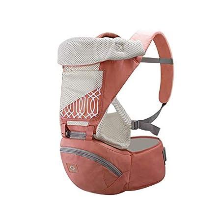 Fousamax Backpack Mochila Porta beb/é y ni/ño Capucha para beb/és y ni/ños peque/ños ergon/ómica y Transpirable con Asiento para la Cadera