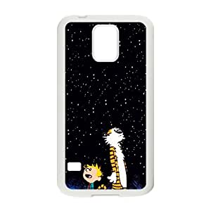 Dark night star boy and tiger Cell Phone Case for Samsung Galaxy S5